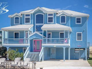 Spacious 8 bedroom Nags Head House with Internet Access - Nags Head vacation rentals