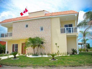 Beautiful Brand new  4 bedroom vacation home in secure gated community - Boca Chica vacation rentals