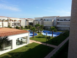 Apartment with 2 rooms in Casablanca, with pool access and terrace - 300 m from the beach - Dar Bouazza vacation rentals