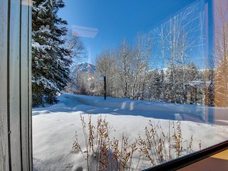 Mountain townhome for six with large deck, shared pool & hot tub - Sun Valley vacation rentals