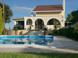 Private pool villa with amazing views & gardens - Aegina vacation rentals