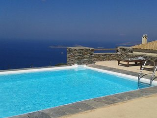 Andros Island Flat Sleeps 4 Mountain High with Swimming Pool - Batsi vacation rentals