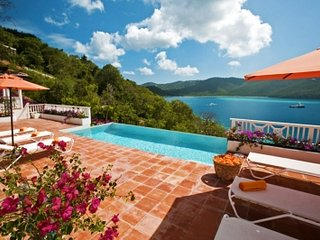 4 Bedroom Villa overlooking the Bay on St. Thomas - Peterborg vacation rentals