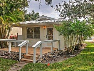 NEW! 1BR Sarasota Cottage on Siesta Key Beach! - Sarasota vacation rentals
