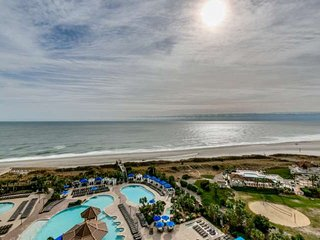 Oceanfront North Beach Plantation Luxury 3 BR 3 BA Condo. 2.5 Acres of Pools - North Myrtle Beach vacation rentals