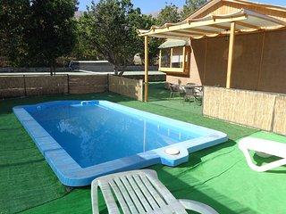Cabaña Vacación Elquina con piscina exclusiva - Vicuna vacation rentals