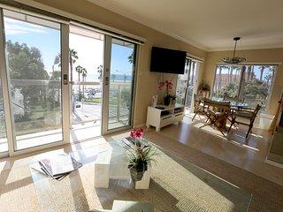 Unobstructed Ocean Views. Steps to Sand! Beach Front Luxury Condo - Santa Monica vacation rentals