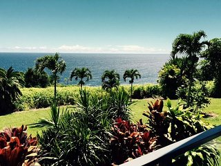 Ocean Bluff Home on the Hamakua Coast - Ninole vacation rentals