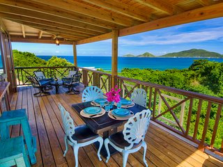 Surfside Gardens - Spectacular Ocean Views, Steps Away from the Surf - Road Town vacation rentals