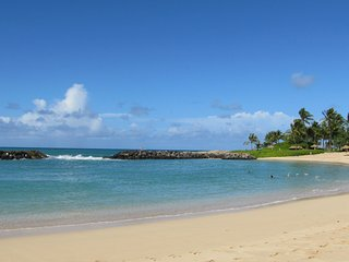 2BE/2BA   beachfront w/ Modern DECOR & Furnished-Pool/P.Ocean views - Kapolei vacation rentals