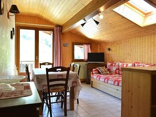 PERRALPES 2 rooms + small bedroom 6 persons - Le Grand-Bornand vacation rentals