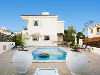 Pernera Cosy 3 bedroom Villa Ksenia, Close to the Beach, with Private Pool - Protaras vacation rentals