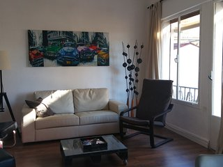 large garden and balcony, great location! - Malaga vacation rentals