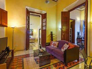 Combines the colorful motifs of Yucatán and Central México - Merida vacation rentals
