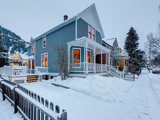 Amazing 4 Bedroom Home in Telluride's Historic District - The Historic Thompson House - Telluride vacation rentals