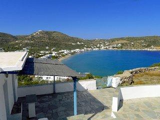 Un gîte authentique avec une vue exceptionnelle sur la baie de Platys Gialos - Platis Yialos vacation rentals