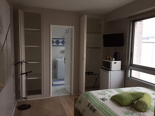 Private room and bathroom, free access to panoramic terrace 3 min far from metro - Courbevoie vacation rentals