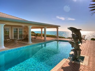 Luxury 9 bedroom Turks and Caicos villa. Beachfront yet private! - Middle Caicos vacation rentals