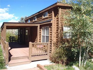 Modern 1 BR with Sleeping Loft Cabin on the Taylor River at Three Rivers Resort in Almont (#67) - Almont vacation rentals
