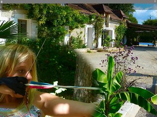 Luxury holiday home with private pool, in the Dordogne France - Sorges vacation rentals