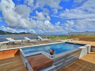 villa the cliff, sea front. - Simpson Bay vacation rentals
