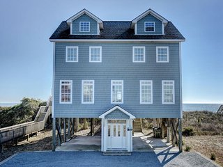 Island Drive 4456 Oceanfront! | Jacuzzi, Internet - North Topsail Beach vacation rentals