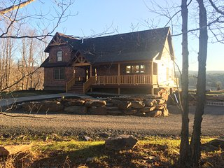 Brand new 4-bedroom ski chalet with bucolic mountain, lake and meadow views. - Windham vacation rentals