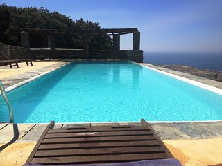 Andros Island MOUNTAIN HOUSE Sea View + Pool Sleep 4 - Andros Town vacation rentals