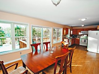 Dining Room W/ Spectacular Views - Lakefront at Classic Drive - Tannersville - rentals