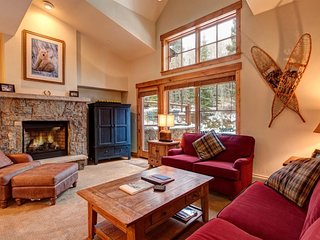 Best of All Worlds in This Mountain Thunder Townhome - Luxurious Ski-In Condo - Breckenridge vacation rentals