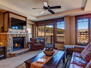 Crystal Peak Lodge Ski-In Ski-Out Corner Unit with Spectacular Views and - Breckenridge vacation rentals