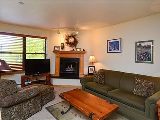Ski -in One Bedroom Overlooking River with Mountain Views, Walk to Town - Breckenridge vacation rentals