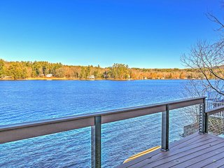 Lakefront 2BR New Marlborough Cottage w/Deck! - New Marlborough vacation rentals