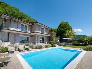 Private villa with heated pool and views of Lake Garda, near Salò - Villanuova sul Clisi vacation rentals