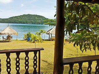 35$/Night! BEACHFRONT Bougainvillea bungalow for 4! - Pelangan vacation rentals