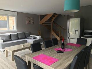 Maison Merlimont Plage + SPA+ JARDIN + GARAGE - 6/ 8 personnes dans les Dunes- - Merlimont-Plage vacation rentals