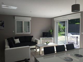 Maison Merlimont PLAGE +SPA+ JARDIN + GARAGE - 6 à 8 personnes dans les Dunes- V - Merlimont-Plage vacation rentals