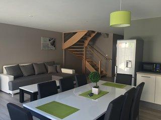 Maison Merlimont PLAGE+SPA+ JARDIN + GARAGE - 6 à 8 personnes dans les Dunes-Vil - Merlimont-Plage vacation rentals