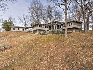 NEW! 1BR Gilbertsville House w/ Private Boat Dock! - Gilbertsville vacation rentals