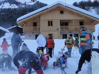 Apartment with 3 rooms in Hauteluce, with furnished garden and WiFi - 2 km from the slopes - Hauteluce vacation rentals