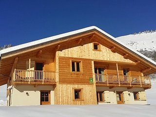 Cosy chalet with 5 rooms in Hauteluce, with furnished garden and WiFi - 2 km from the slopes - Hauteluce vacation rentals