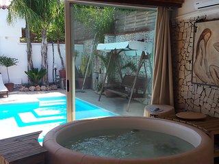 Villa Brunella Napoli piscina solarium sauna spa sala fitness privata - golf - Castelvolturno vacation rentals