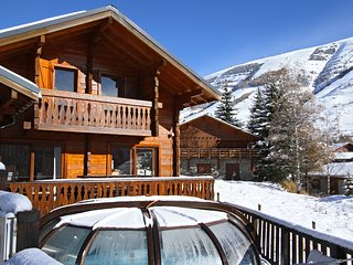Perfect Cabin with Television and Microwave - Les Deux Alples vacation rentals