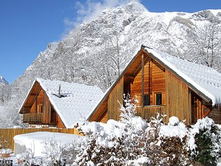 Chalet Le Pleynet - Chalet with 7 rooms in Vénosc, with wonderful mountain view, private pool and enclosed garden - Vénosc vacation rentals