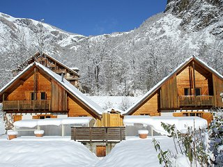 Chalet with 7 rooms in Vénosc, with wonderful mountain view, private pool and enclosed garden - Vénosc vacation rentals