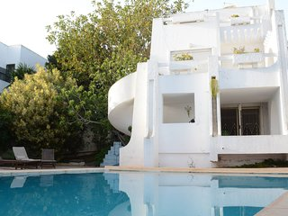 Dar Gammart - Villa with 5 rooms in Marsa, with private pool, enclosed garden and WiFi - 400 m from the beach - Gammarth vacation rentals