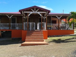 House with 3 rooms in Anse Bertrand, with terrace and enclosed garden - 7 km from the beach ! - Anse-Bertrand vacation rentals