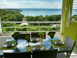Résidence MELODY - Apartment with one room in Sainte-Anne, with wonderful sea view, pool access, furnished balcony - Sainte-Anne vacation rentals