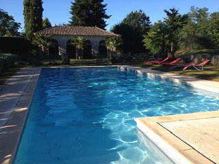 La Tissanderie - Mansion with 5 rooms in Liorac-sur-Louyre, with private pool, furnished garden and WiFi - 140 km from the beach - Liorac-sur-Louyre vacation rentals