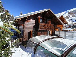 Chalet with 5 rooms in Les 2 Alpes, with wonderful mountain view, private pool and terrace - Les Deux Alples vacation rentals